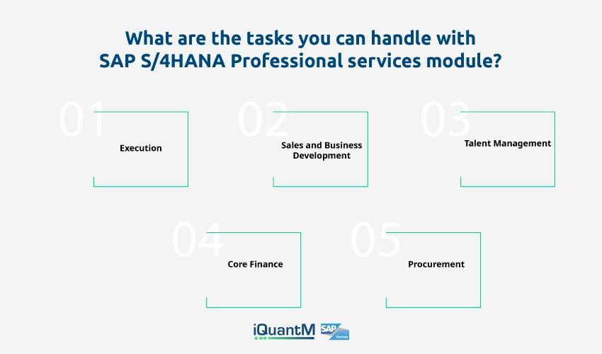SAP S4HANA Professional services