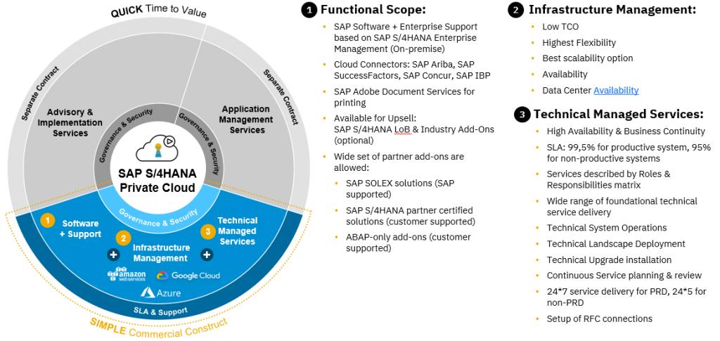 SAP Functional Scope